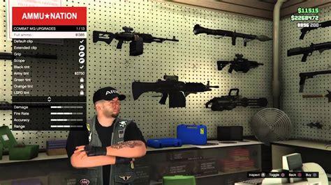 How To Buy Ammo Gta V