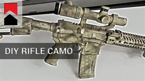 How To Camo A Rifle