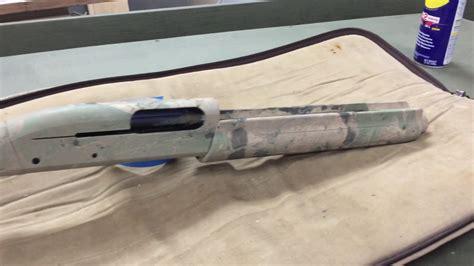 How To Camouflage Spray Paint Shotgun