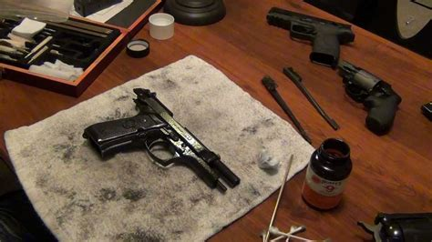 Beretta-Question How To Clean A Beretta M9.