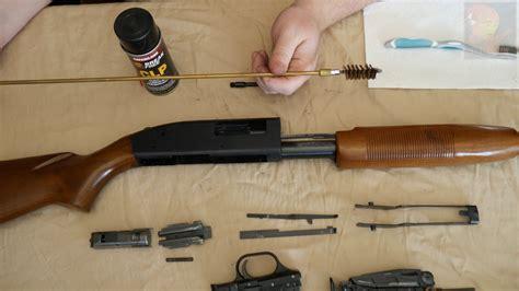 How To Clean A Pump Action Shotgun Barrel