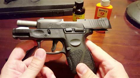 Taurus-Question How To Clean A Taurus Millennium G2 9mm.