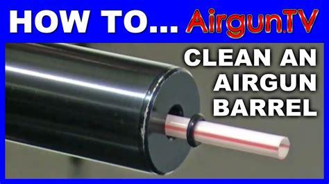 How To Clean Air Rifle Barrel