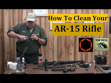 Ar-15-Question How To Clean An Ar 15.