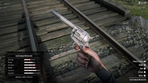 How To Clean Guns Red Dead Redemption 2