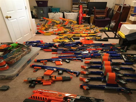 How To Clean Nerf Gun