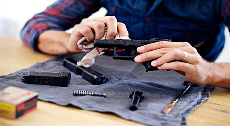 How To Clean Outside Of Gun And 2 Inch Cotton Gun Cleaning Patches
