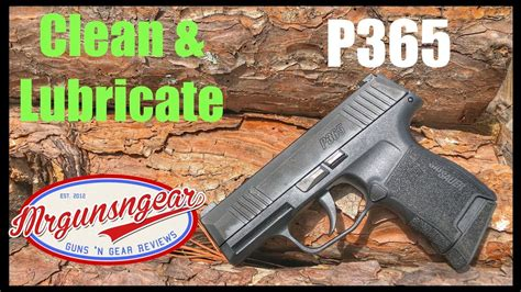 How To Clean Sig P365