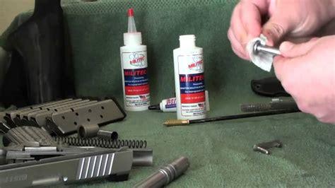 How To Clean Your Gun Militec1