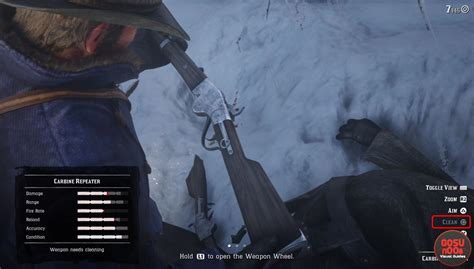 How To Clean Your Guns In Red Dead Redemption 2