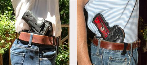How To Conceal Carry A Full Size Handgun
