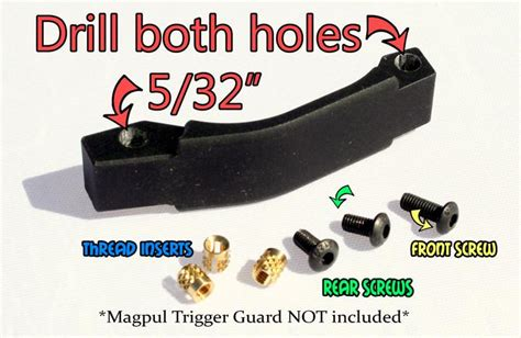 How To Deal With A Stripped Magpul Trigger Guard Screw