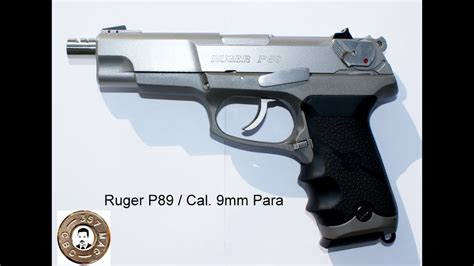 Ruger How To Disassemble A Ruger P89.