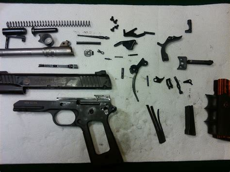 Taurus-Question How To Disassemble A Taurus 1911.