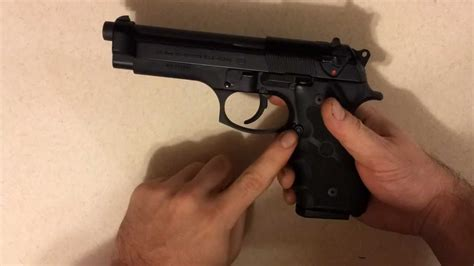 Beretta-Question How To Disassemble And Clean A Beretta M9.