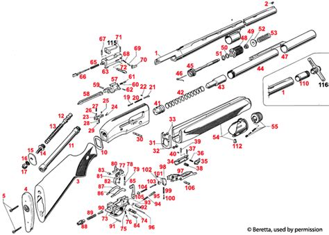 Beretta-Question How To Disassemble And Service A Beretta Al390.