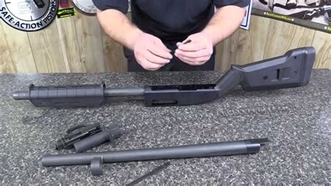 How To Disassemble Mossberg 590a1