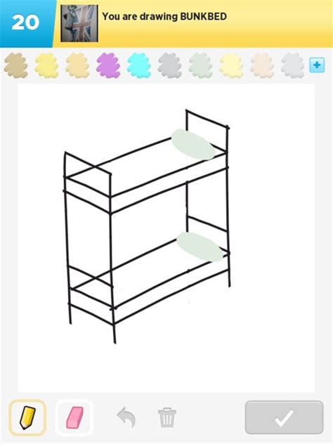 how to draw a bunk bed.aspx Image