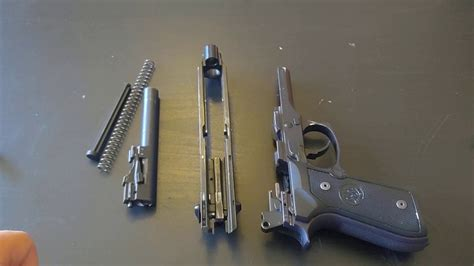 Beretta-Question How To Field Strip A Beretta M9.