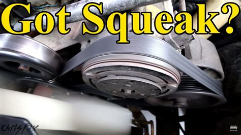Taurus-Question How To Fix A Squealing Serpentine Belt On 2006 Taurus.