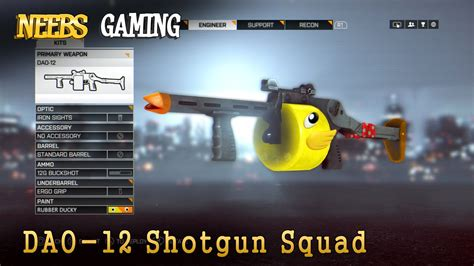 How To Get A Shotgun In Bf4