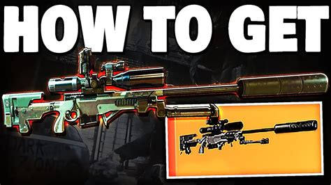 How To Get Exotice Sniper Rifle In Division 2