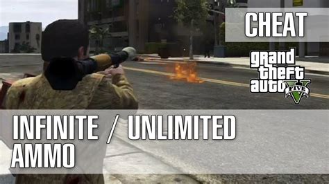 How To Get Unlimited Ammo In Gta 5 Online