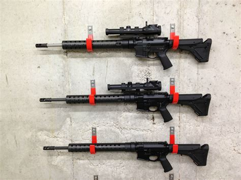 How To Hang Ar 15 On Wall