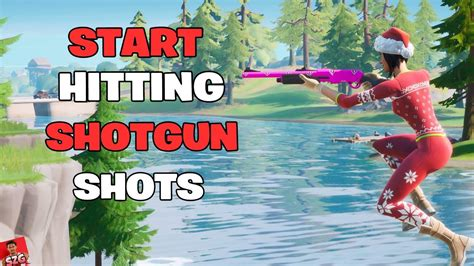 How To Hit Shotgun Shots In Fortnite