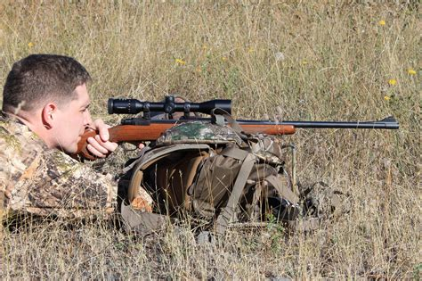How To Hold A Sniper Rifle Prone