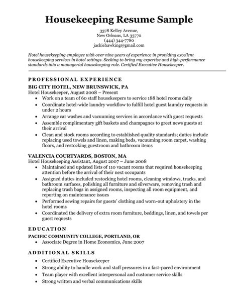 How To Make Resume For Cleaning Job Curriculum Vitae For