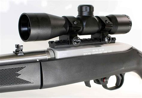 Ruger How To Install A Scope On A Ruger 10 22.