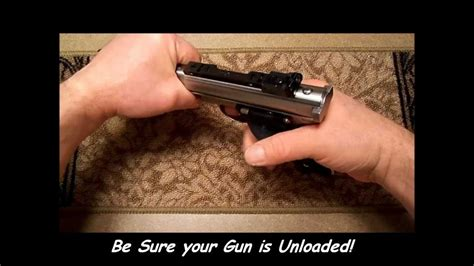 How To Install A Vq Exact Edge Extractor In A Ruger Mark Ii Mark Iii