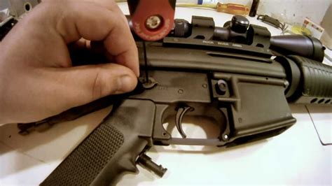How To Install Ambi Safety On Ar 15
