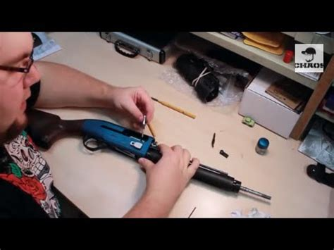 How To Install Briley Bolt Handle EZ Bolt Release On Beretta A400 Xcel