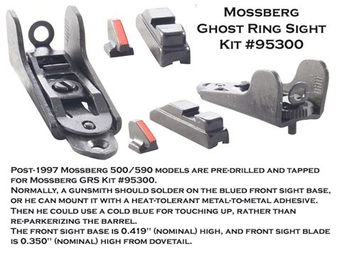 How To Install Mossberg Ghost Ring Sight Kit