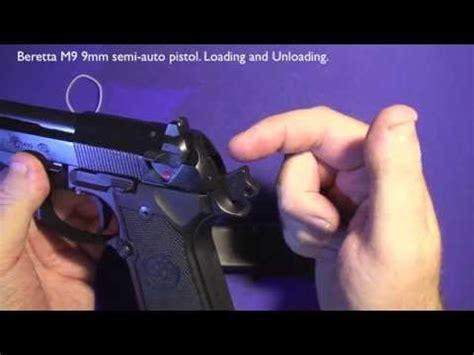Beretta-Question How To Load A Beretta M9.