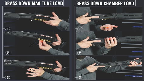How To Load A Pump Shotgun Fast