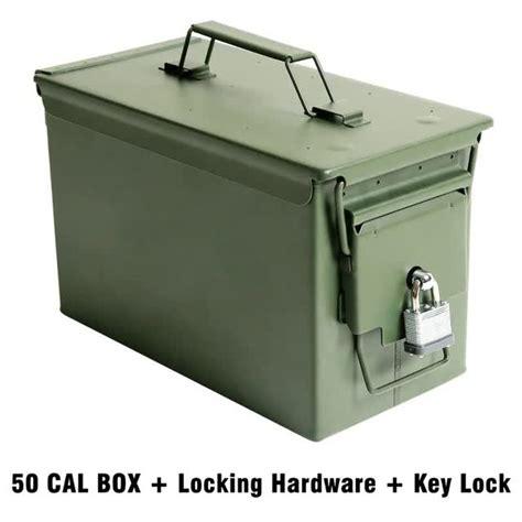 How To Lock Metal Ammo Box