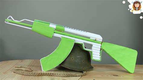Gun-Shop How To Make A Ak 47 Paper Gun.