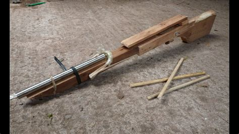 How To Make A Bolt Action Rifle At Home