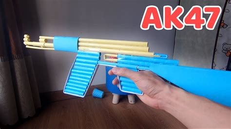 How To Make A Cardboard Ak 47 At Home