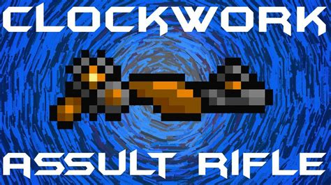 How To Make A Clockwork Assault Rifle In Terraria
