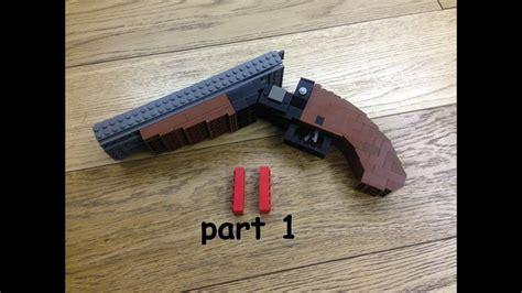 How To Make A Double Barrel Shotgun Out Of Legos And Krupplaufstahl Double Barrel Shotgun