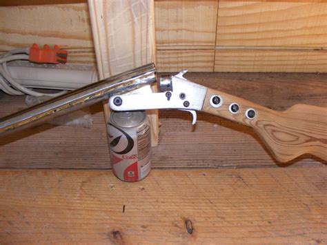 How To Make A Homemade Shotgun Double Barrel