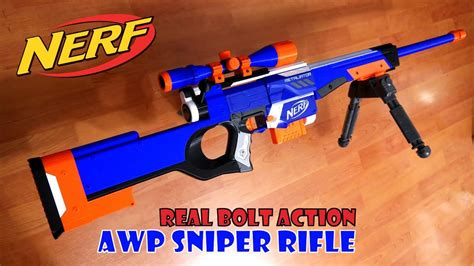How To Make A Nerf Bolt Action Rifle