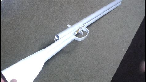 How To Make A Paper Double Barrel Shotgun Easy