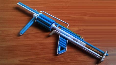 How To Make A Paper Rifle Gun That Shoots