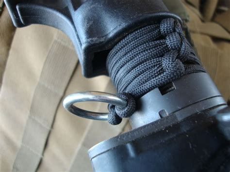How To Make A Single Point Sling Mount With Paracord