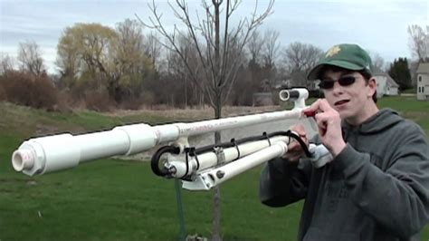 How To Make Air Powered Sniper Rifle